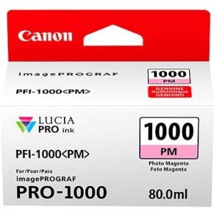 Canon LUCIA PRO PFI-1000 PM Original Ink Cartridge - Photo Magenta