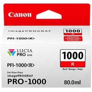Canon LUCIA PRO PFI-1000 R Original Ink Cartridge - Red