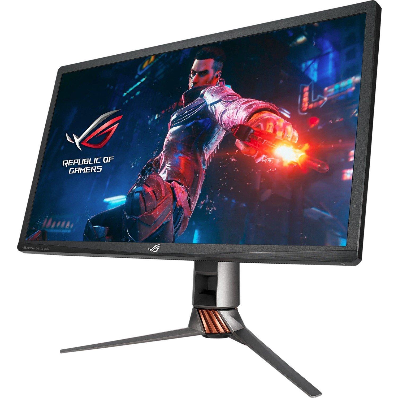 "Asus ROG SWIFT PG27UQ 68.6 cm (27"") 4K UHD LED Gaming LCD Monitor - 16:9 - Armor Titanium, Plasma Copper"