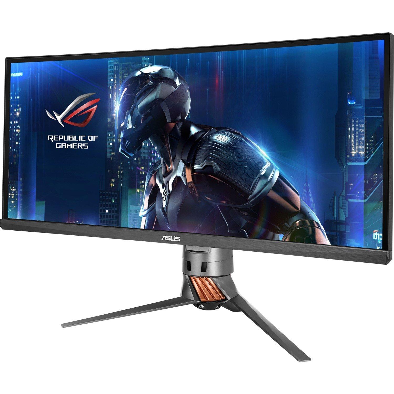 "Asus ROG Swift PG348Q 86.4 cm (34"") UW-QHD Curved Screen LED LCD Monitor - 21:9 - Plasma Copper, Armor Titanium"