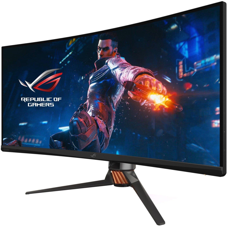 "Asus ROG Swift PG35VQ 88.9 cm (35"") UW-QHD Curved Screen LED Gaming LCD Monitor - 21:9 - Plasma Copper, Armor Titanium, Black"