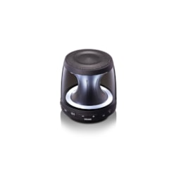 LG PH1 Speaker System - 10 W RMS - Wireless Speaker(s) - Portable - Battery Rechargeable - Black