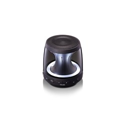 LG PH1 Portable Bluetooth Speaker System - 10 W RMS - Black