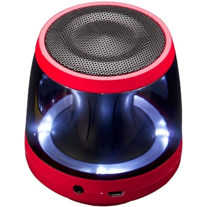 LG PH1R Speaker System - Wireless Speaker(s) - Portable - Battery Rechargeable - Red