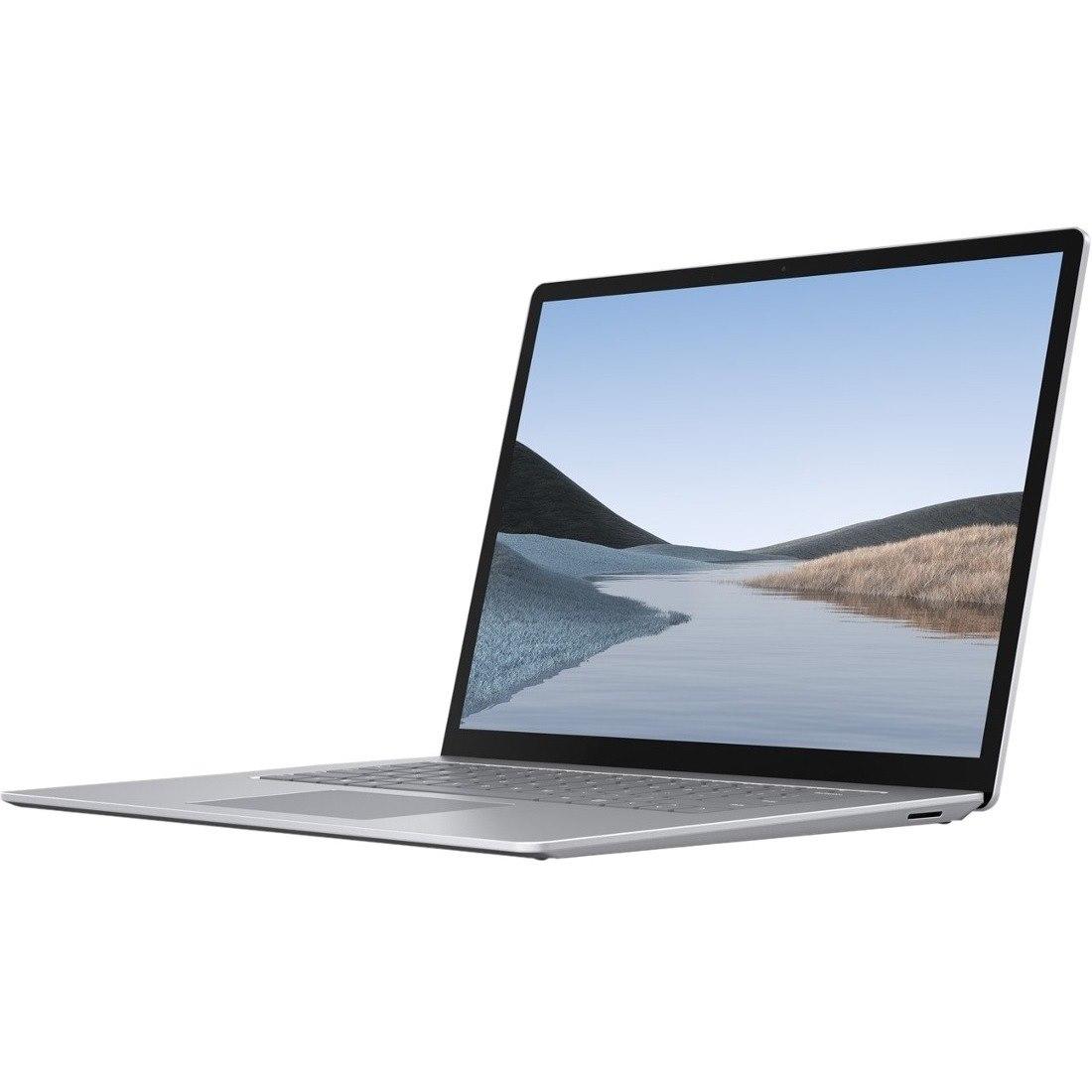"Microsoft Surface Laptop 3 38.1 cm (15"") Touchscreen Notebook - 2496 x 1664 - Intel Core i7 (10th Gen) i7-1065G7 Quad-core (4 Core) 1.30 GHz - 16 GB RAM - 256 GB SSD - Platinum"