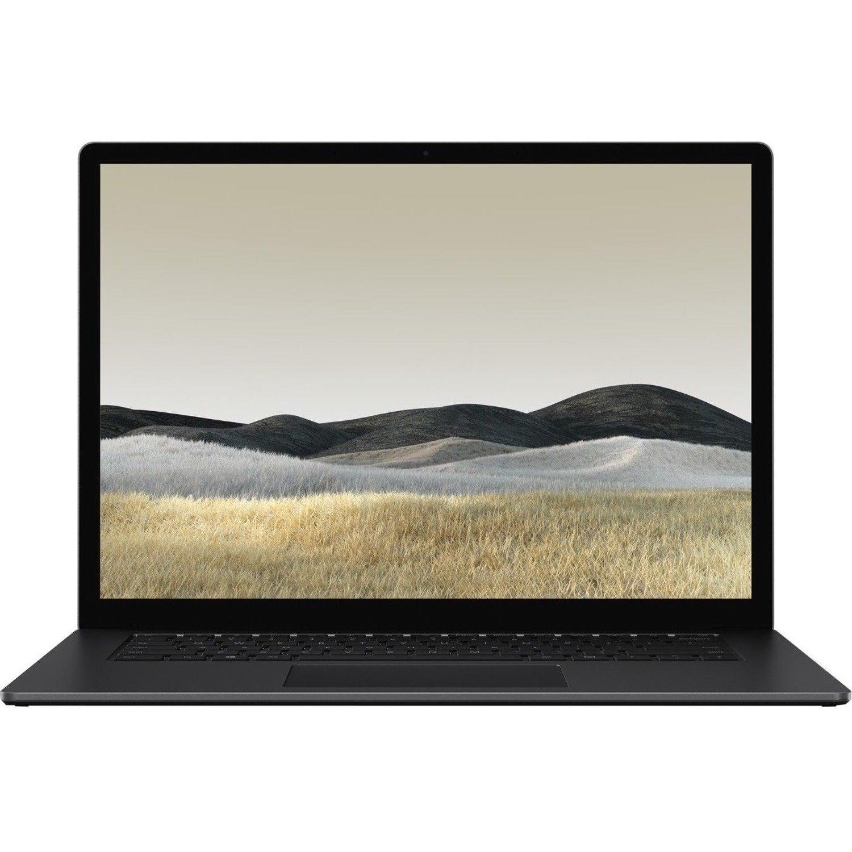 "Microsoft Surface Laptop 3 38.1 cm (15"") Touchscreen Notebook - 2496 x 1664 - Intel Core i7 (10th Gen) i7-1065G7 Quad-core (4 Core) 1.30 GHz - 16 GB RAM - 256 GB SSD - Matte Black"