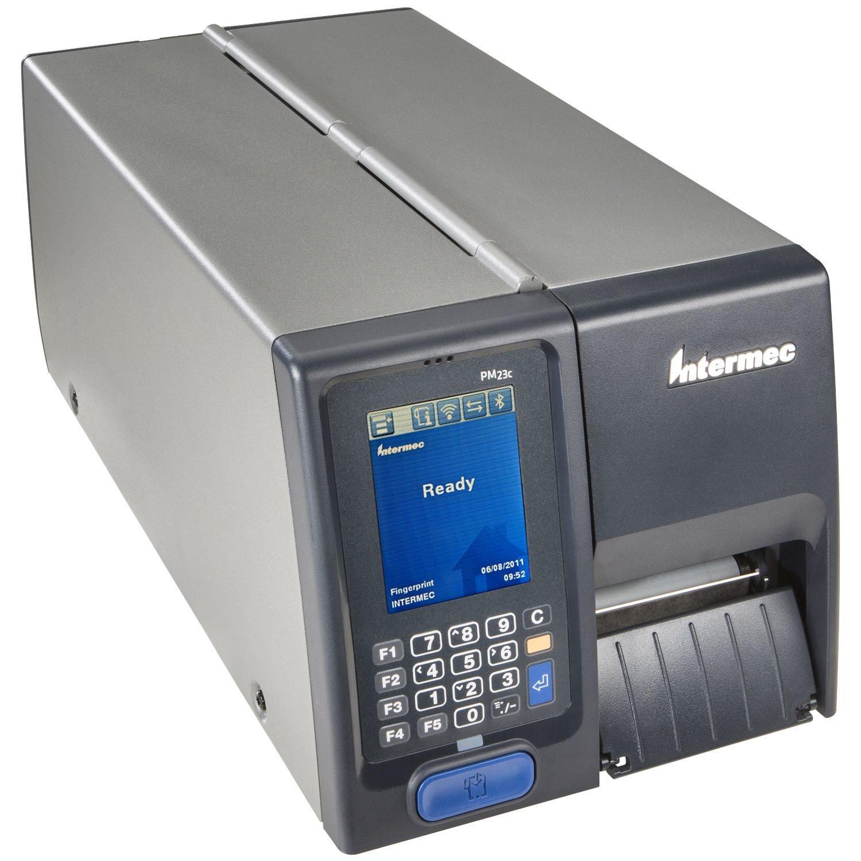 Intermec PM23c Direct Thermal/Thermal Transfer Printer - Monochrome - Desktop - Label Print - Ethernet - USB - Serial