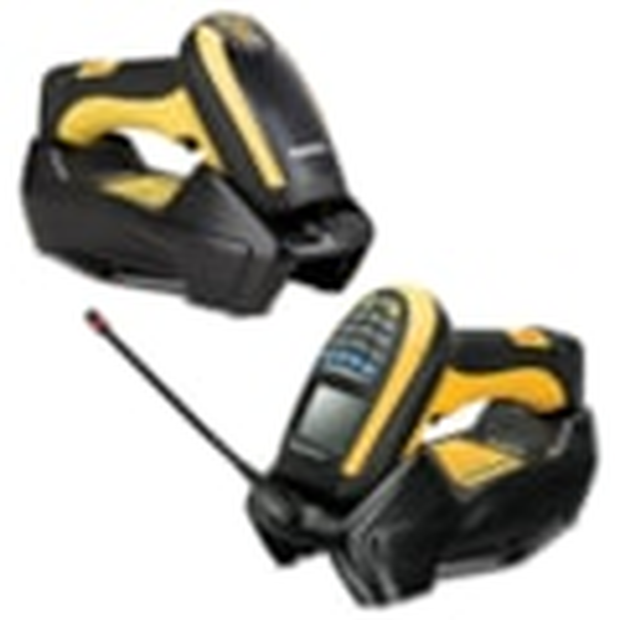 Datalogic PowerScan PM9501 Handheld Barcode Scanner - Wireless Connectivity - Yellow, Black