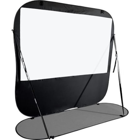 "Elite Screens Pop-up Cinema POP92H Projection Screen - 233.7 cm (92"") - 16:9 - Floor Mount"