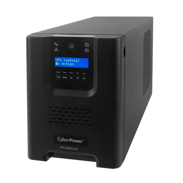CyberPower Professional Tower PR1500ELCD Line-interactive UPS - 1.50 kVA/1.35 kWTower