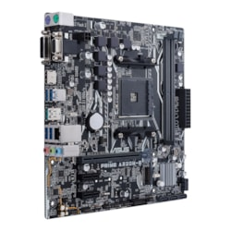 Asus Prime A320M-E Desktop Motherboard - AMD Chipset - Socket AM4