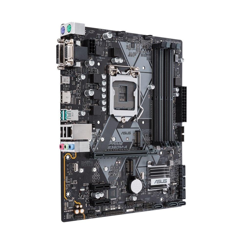 Asus Prime B360M-A/CSM Desktop Motherboard - Intel Chipset - Socket H4 LGA-1151