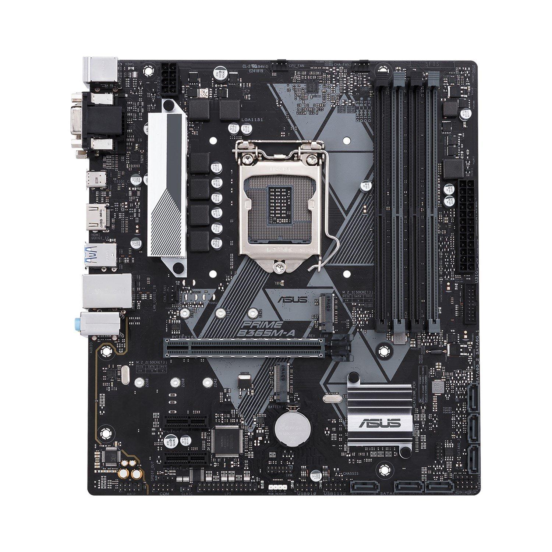 Asus Prime B365M-A/CSM Desktop Motherboard - Intel Chipset - Socket H4 LGA-1151