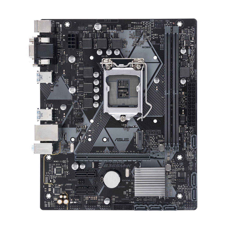 Asus Prime B365M-K Desktop Motherboard - Intel Chipset - Socket H4 LGA-1151