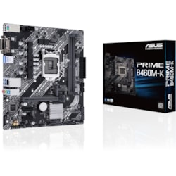 Asus Prime B460M-K Desktop Motherboard - Intel Chipset - Socket LGA-1200