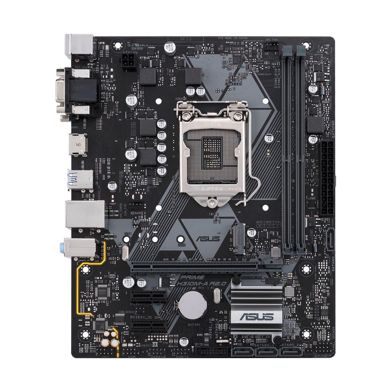 Asus Prime H310M-A R2.0 Desktop Motherboard - Intel Chipset - Socket H4 LGA-1151