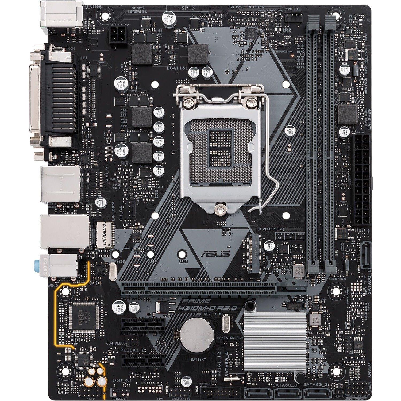Asus Prime H310M-D R2.0/CSM Desktop Motherboard - Intel Chipset - Socket H4 LGA-1151