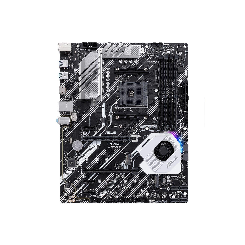 Asus Prime X570-P/CSM Desktop Motherboard - AMD Chipset - Socket AM4