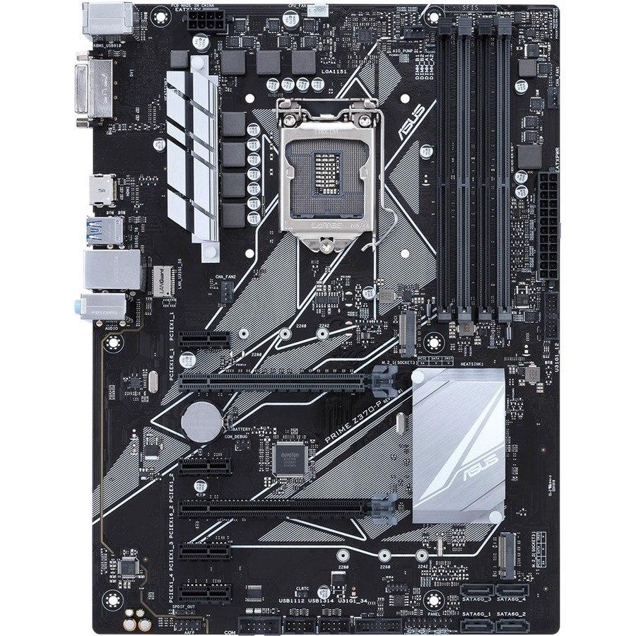 Asus Prime Z370-P Desktop Motherboard - Intel Chipset - Socket H4 LGA-1151