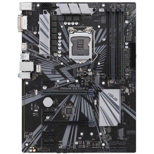 Asus Prime Z370-P II Desktop Motherboard - Intel Chipset - Socket H4 LGA-1151