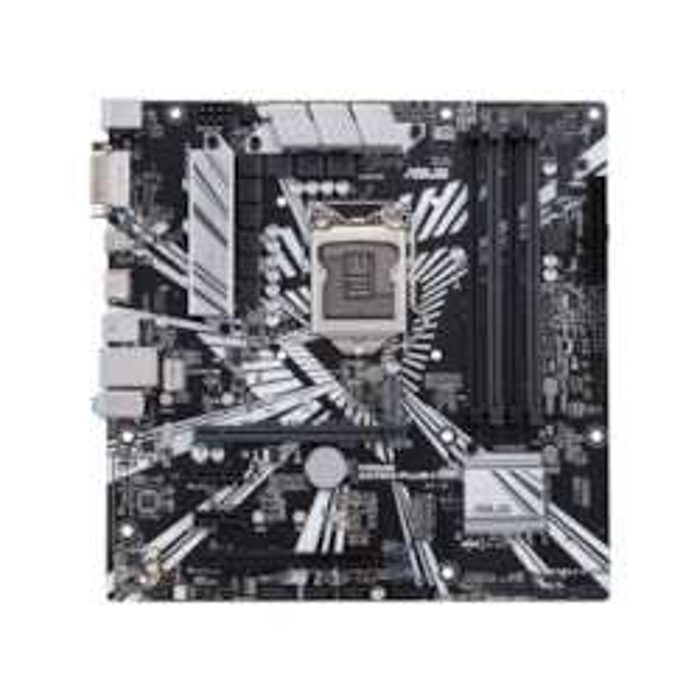 Asus Prime Z370M-PLUS II Desktop Motherboard - Intel Chipset - Socket H4 LGA-1151