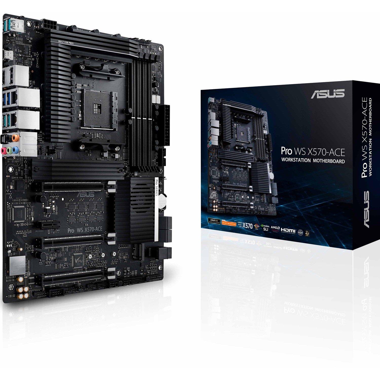 Asus Pro WS X570-ACE Workstation Motherboard - AMD Chipset - Socket AM4