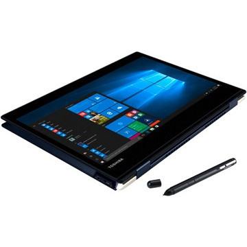 "Toshiba Portege X20 31.8 cm (12.5"") Touchscreen LCD 2 in 1 Notebook - Intel Core i7 (7th Gen) i7-7600U Dual-core (2 Core) 2.80 GHz - 8 GB - 256 GB SSD - Windows 10 Pro - 1920 x 1080 - Convertible - Blue Black Hairline"