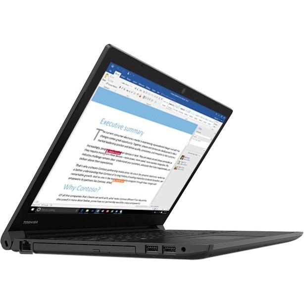 "Toshiba Tecra C50 39.6 cm (15.6"") Notebook - 1366 x 768 - Intel Core i7 (8th Gen) i7-8550U Quad-core (4 Core) 1.80 GHz - 8 GB RAM - 256 GB SSD - Genchaku Black"