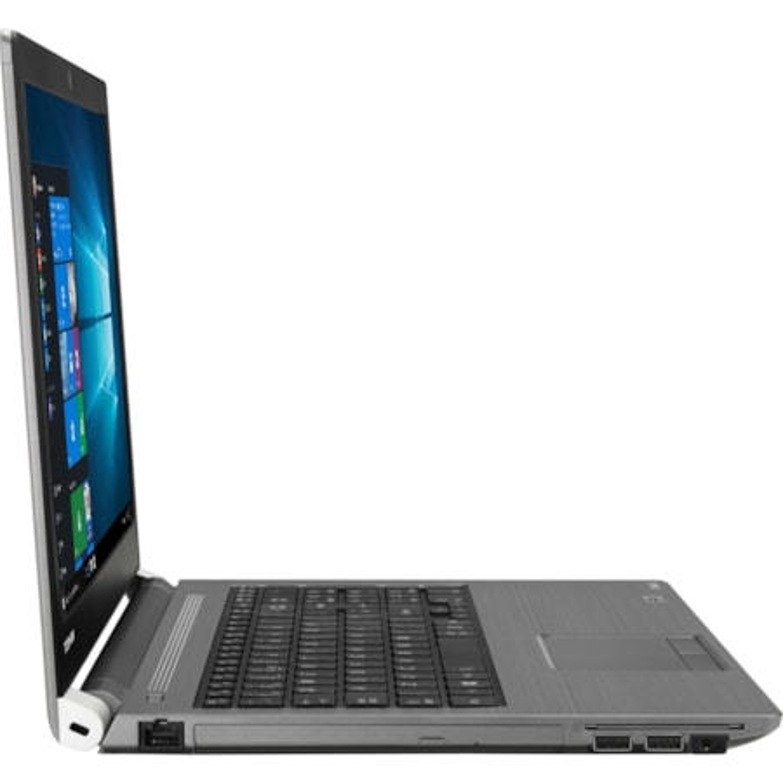 "Toshiba Tecra A50-E 39.6 cm (15.6"") LCD Notebook - Intel Core i5 (8th Gen) i5-8250U Quad-core (4 Core) 1.60 GHz - 8 GB - 256 GB SSD - Windows 10 Pro - 1366 x 768 - Genchaku Black, Silver Metal"