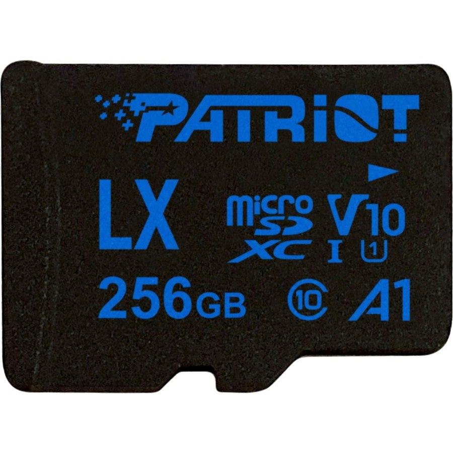 Patriot Memory 256 GB Class 10/UHS-I (U1) microSDXC