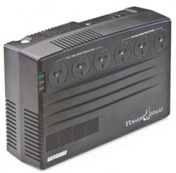 Power Shield SafeGuard PSG750 Line-interactive UPS - 750 VA/450 W - Tower