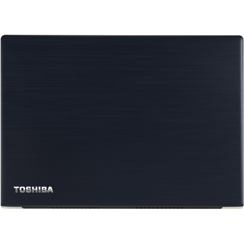 "Toshiba Portege X30-E 33.8 cm (13.3"") LCD Notebook - Intel Core i5 (8th Gen) i5-8250U Quad-core (4 Core) 1.60 GHz - 8 GB - 256 GB SSD - Windows 10 Pro - 1920 x 1080 - Blue Black Hairline"