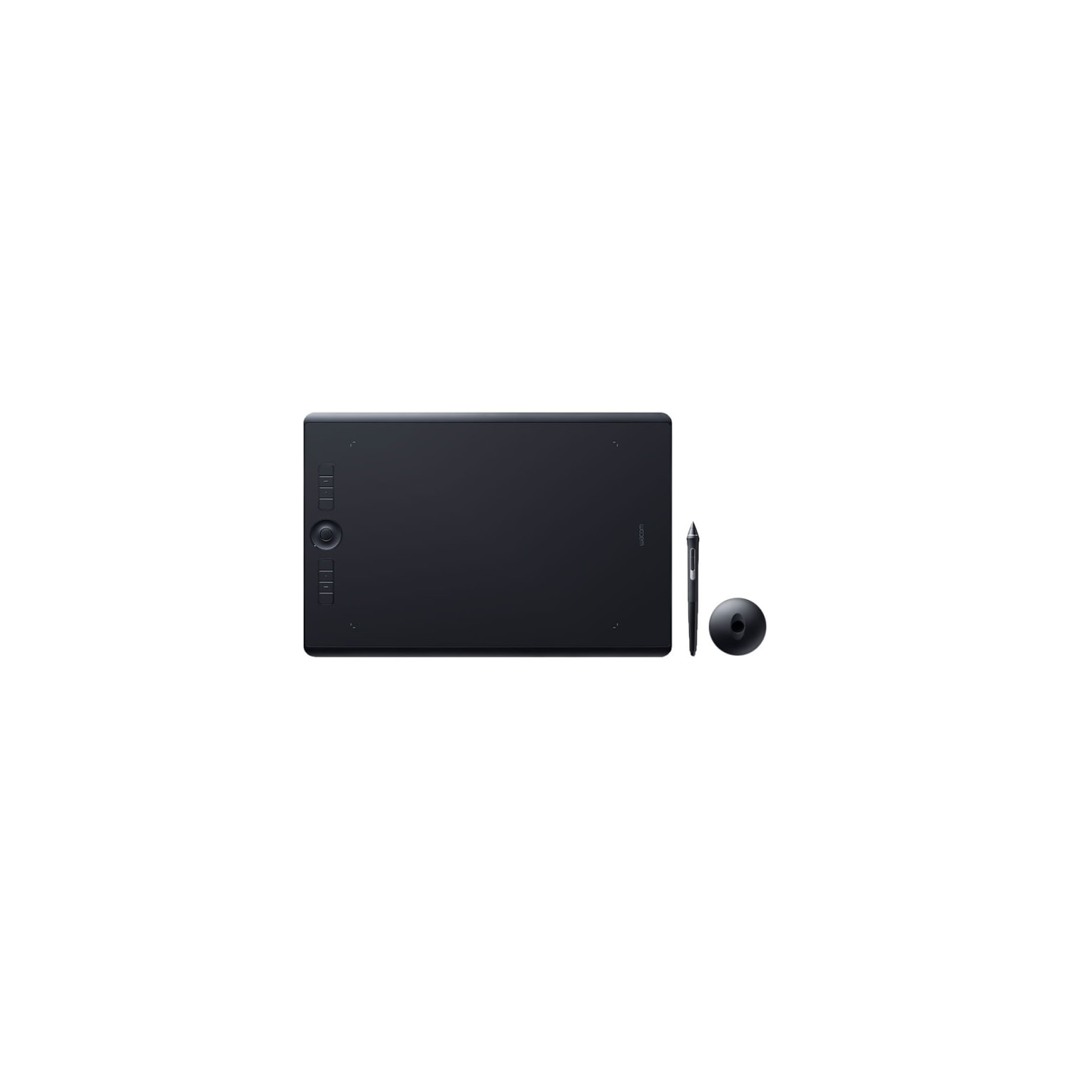 Wacom Intuos Pro PTH-660 Graphics Tablet - 5080 lpi - Touchscreen -  Multi-touch Screen - Wired/Wireless - Black