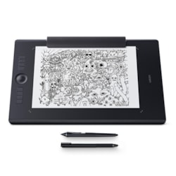 Wacom Intuos Pro PTH-860 Graphics Tablet - Wired/Wireless - Black