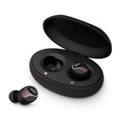 BlueAnt Pump Air 2 Wireless Earbud Stereo Headset - Black, Rose Gold