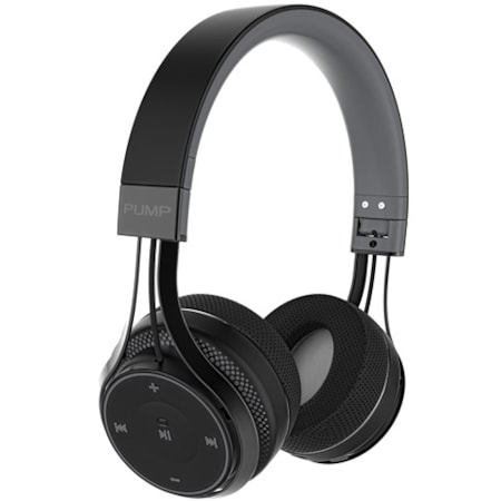 BlueAnt Pump Soul Wireless Over-the-head Stereo Headset - Black