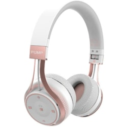 BlueAnt Pump Soul Wireless Behind-the-neck Stereo Headset - White Rose Gold