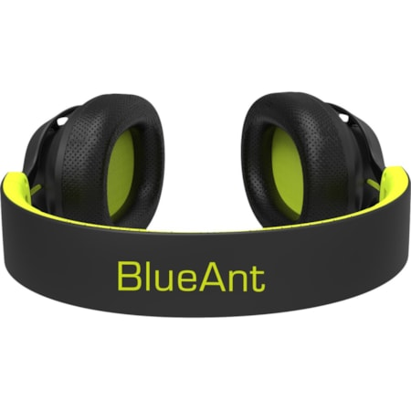 BlueAnt PUMP Zone Wired/Wireless Bluetooth Stereo Headset - Over-the-head - Circumaural - Black