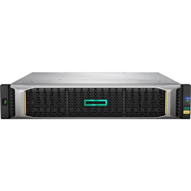 HPE 2052 24 x Total Bays SAN Storage System - 2U - Rack-mountable