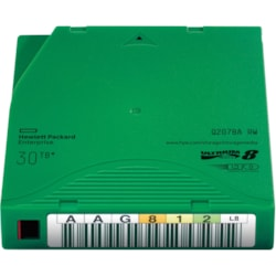 HPE Data Cartridge LTO-8 - Rewritable - Labeled - 1 Pack