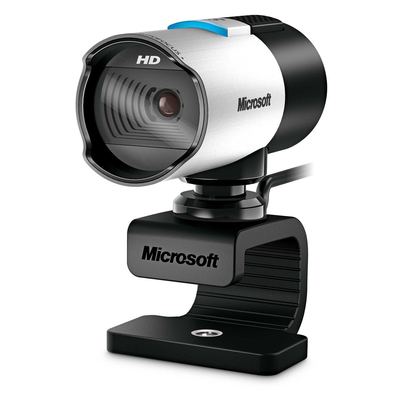 Microsoft LifeCam Webcam - 30 fps - Silver, Black - USB 2.0