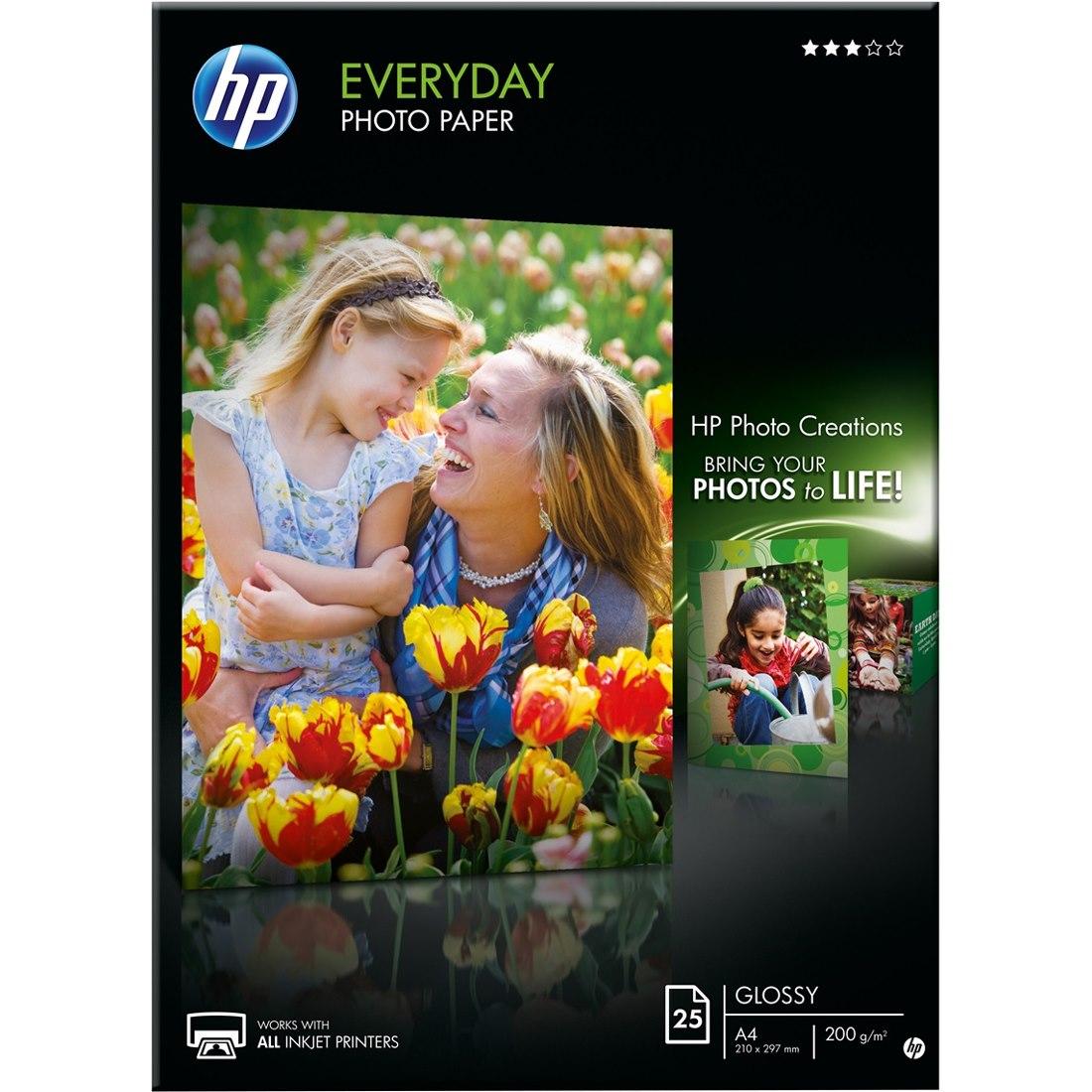 HP Everyday Inkjet Print Photo Paper