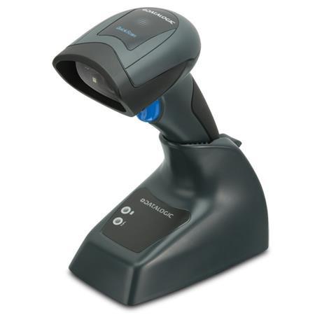 Datalogic QuickScan I QBT2131 Handheld Barcode Scanner Kit - Wireless Connectivity - Black