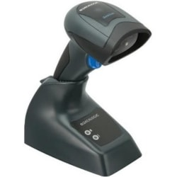 Datalogic QuickScan I QBT2430 Handheld Barcode Scanner Kit - Wireless Connectivity - Black