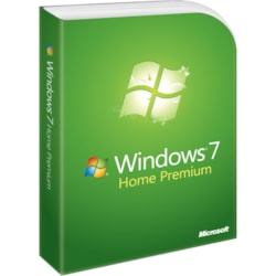 Microsoft Windows 7 Home Premium With Service Pack 1 32-bit - License and Media - 1 PC - OEM
