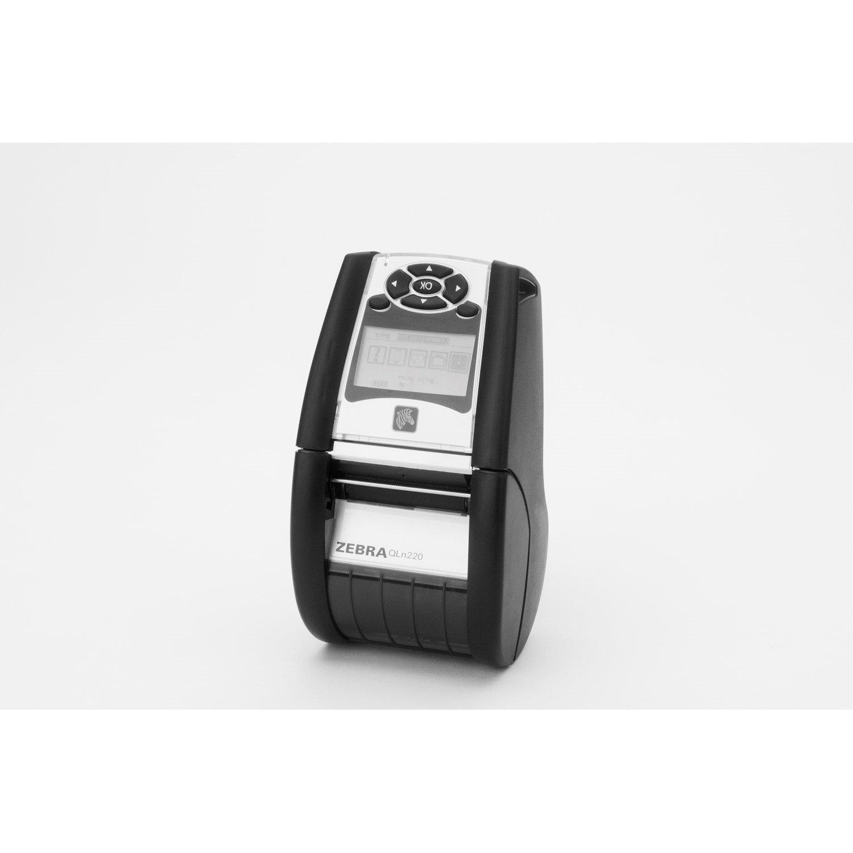 Zebra QLn220 Direct Thermal Printer - Monochrome - Portable - Label Print