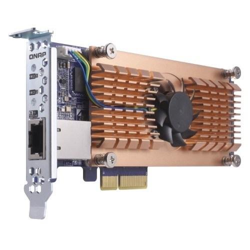 QNAP QM2-2P10G1T M.2 to PCI Express Adapter