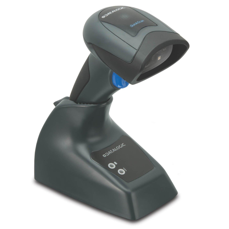 Datalogic QuickScan I QM2131 Handheld Barcode Scanner Kit - Wireless Connectivity - Black