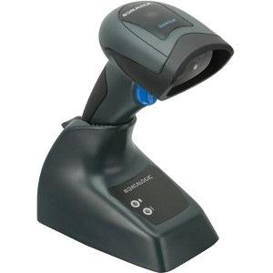 Datalogic QuickScan I QM2430 Handheld Barcode Scanner Kit - Wireless Connectivity - Black