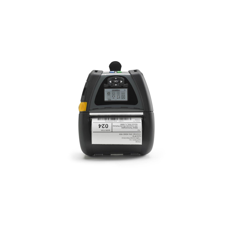 Zebra QLn420 Direct Thermal Printer - Monochrome - Portable - Label Print
